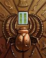 Shiny Scarab Badge - Mahjong Escape