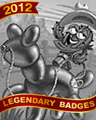 Balloon Buster Badge - MONOPOLY