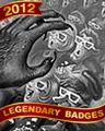 3d Terror Badge - Chess