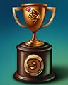 Rose Race Lap 9 Badge - CLUE Secrets & Spies