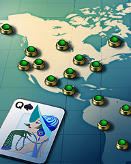 Well Traveled Badge - World Class Solitaire HD