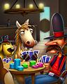 Go Fish Badge - No Limit Texas Hold'em