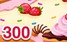 A Hundred Times Three, Sweet As Can Be! Badge - Cookie Connect