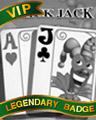 Joker Jack Badge - Solitaire Gardens