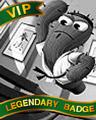 Pop-Fu Fury Badge - Mahjong Escape