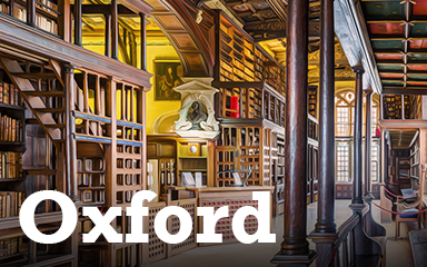 Oxford Postcard Badge - Postcards From Britain