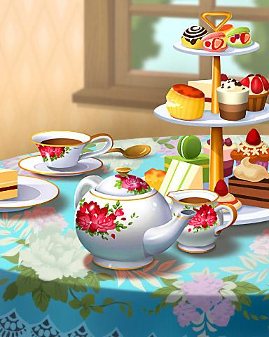Pogo Tea For Three Badge