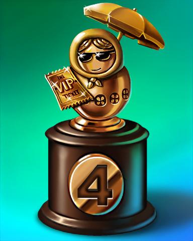 Summer Run Lap 4 Badge - Everyone Wins Bingo