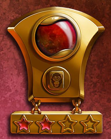 Mahjong Mastery II Badge - Mahjong Garden HD