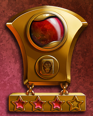 Mahjong Mastery III Badge - Mahjong Garden HD