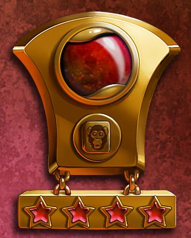 Mahjong Mastery IV Badge - Mahjong Garden HD