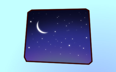 Nighty-Night Badge - Quinn's Aquarium