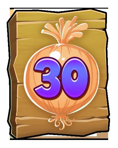 The Onion Badge - Word Whomp HD