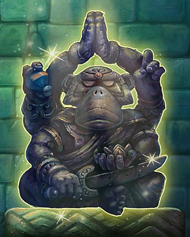 Monkey Idol Badge - Tri-Peaks Solitaire HD