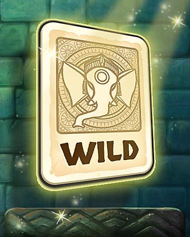 Wild Card Badge - Tri-Peaks Solitaire HD