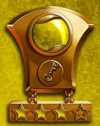 Solitaire Sprint Lap 3 Badge - Solitaire Gardens