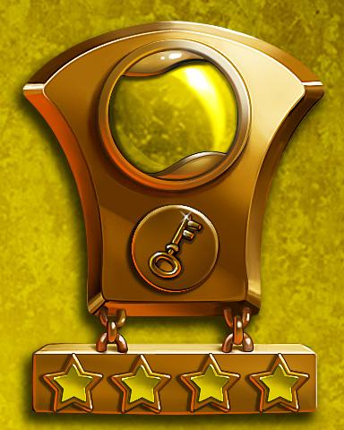 Solitaire Sprint Lap 4 Badge - Solitaire Gardens