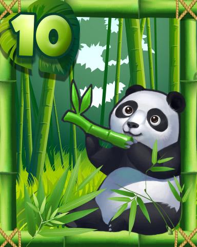 The Panda Badge - Mahjong Safari HD