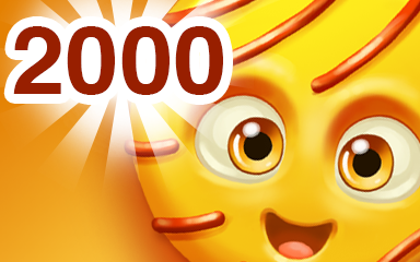 Yellow Cookie 2000 Badge - Cookie Connect