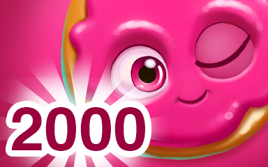 Red Cookie 2000 Badge - Cookie Connect