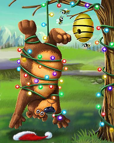 Holiday Blues Badge - Tumble Bees HD