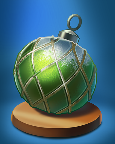 Chubby Bauble Badge - StoryQuest