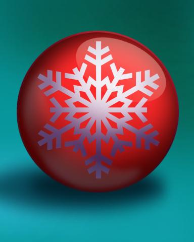 Snowflake Trinket Badge - Lottso! Express HD