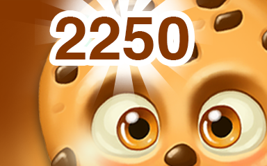 Chocolate Cookie 2250 Badge - Cookie Connect