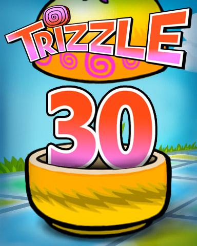 Rank 30 Badge - Trizzle