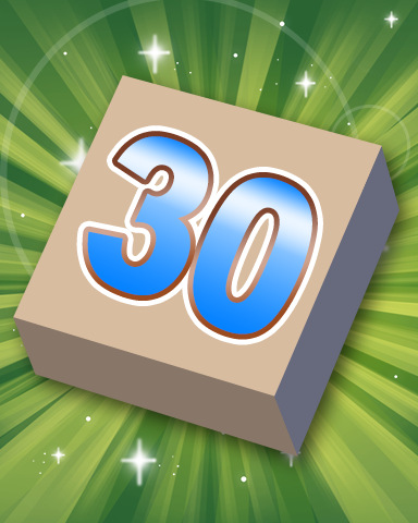 Rank 30 Badge - SCRABBLE