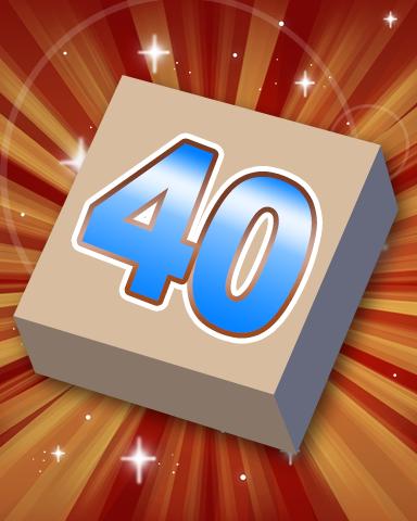 Rank 40 Badge - SCRABBLE