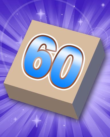 Rank 60 Badge - SCRABBLE
