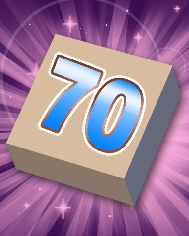 Rank 70 Badge - SCRABBLE