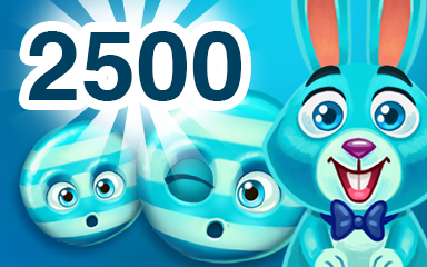 Blue Cookie 2500 Badge - Cookie Connect