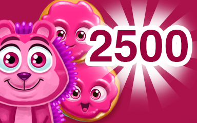 Red Cookie 2500 Badge - Cookie Connect
