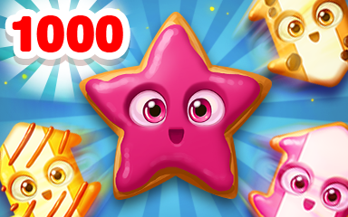 Cookie Twins 1000 Badge - Cookie Connect
