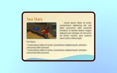 Seeing Stars Badge - Quinn's Aquarium