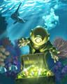 Token Trove Badge - Vaults Of Atlantis Slots