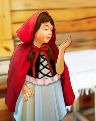 Little Red Riding Hood Episode 2 Badge - StoryQuest