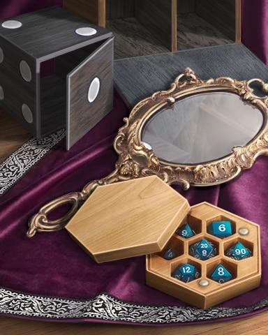 Magic Mirror Badge - Claire Hart: Secret In The Shadows