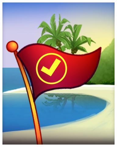 Ocean Master Badge - Solitaire Blitz
