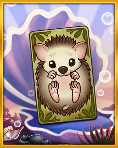 Hedgehog Kid Badge - Solitaire Blitz