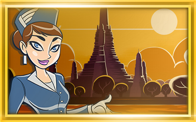 Bangkok Extended Stay Coach Badge - Jet Set Solitaire