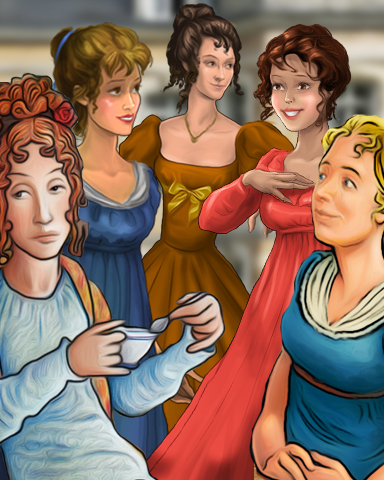 Jane Austen's Masterpieces Badge - StoryQuest