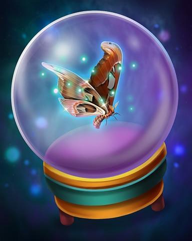 Mystical Memories Badge - Claire Hart: Secret In The Shadows