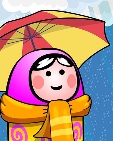 Rain Chain Badge - Trizzle