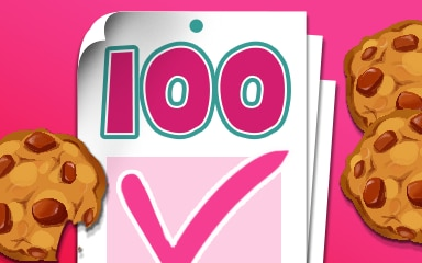 Login 100 Badge - Cookie Connect