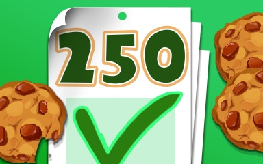 Login 250 Badge - Cookie Connect
