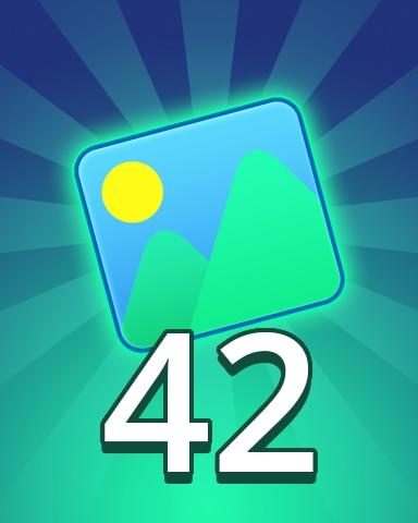 Theme 42 Badge - Pogo Daily Sudoku