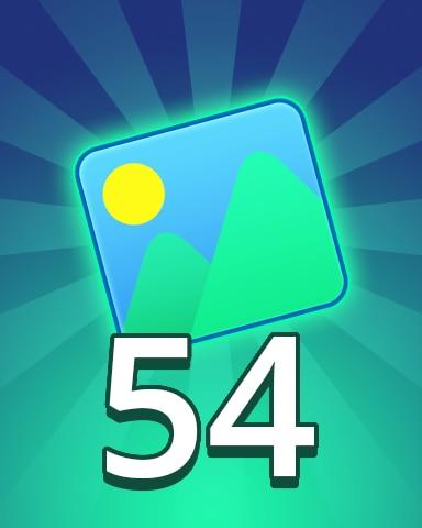 Theme 54 Badge - Pogo Daily Sudoku